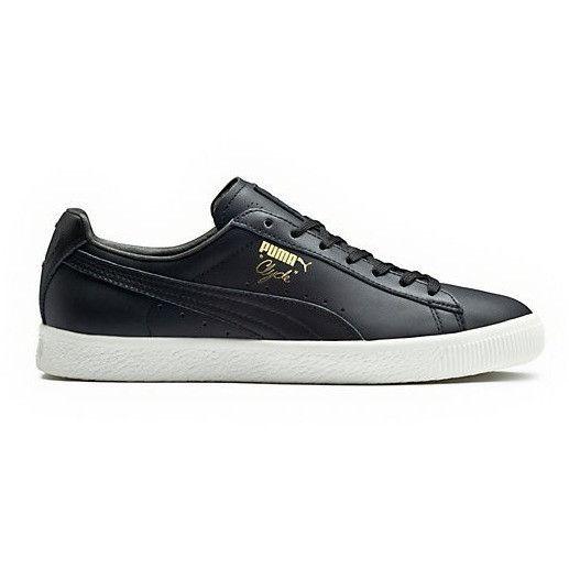 Puma Clyde Black Leather | Puma, Black