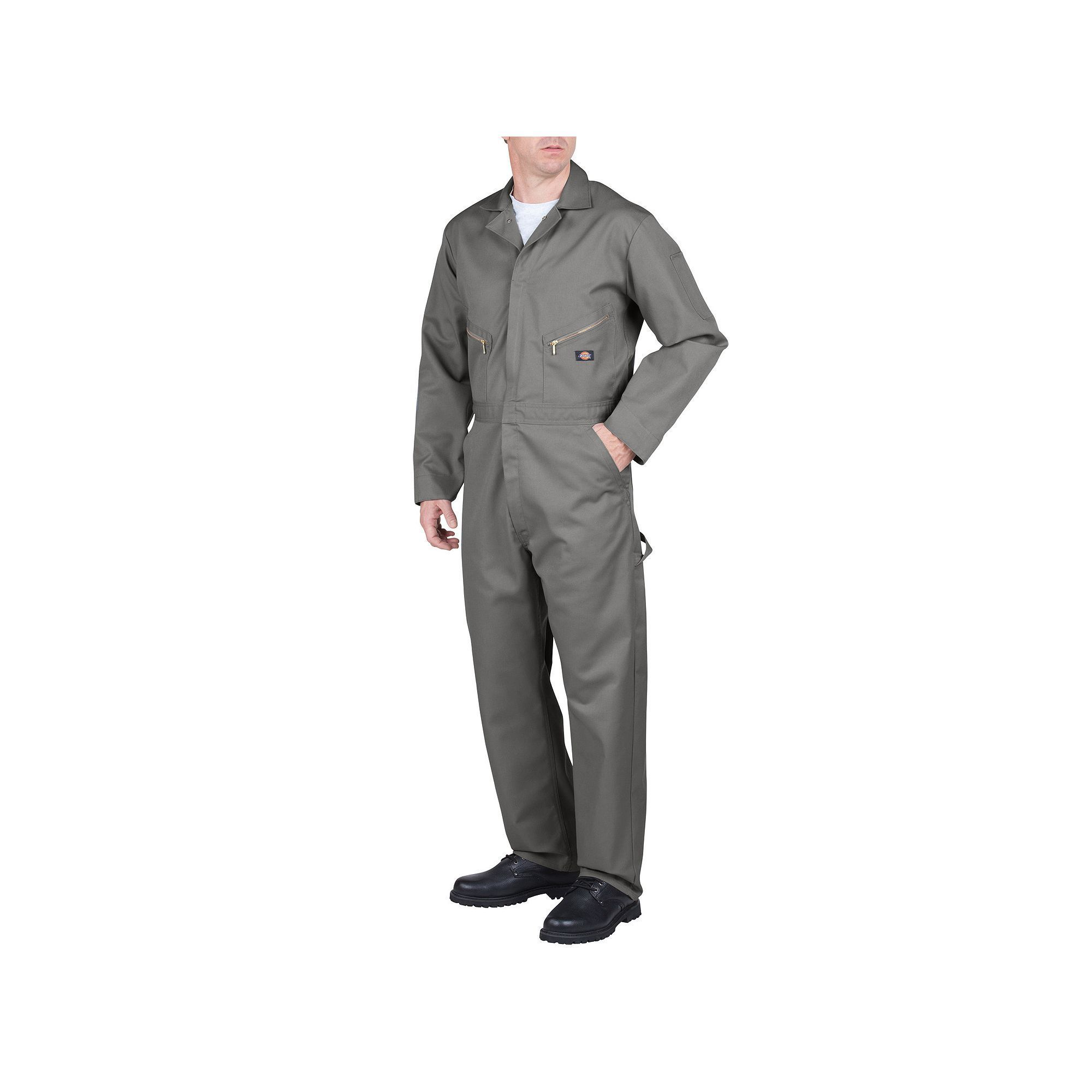 men s dickies deluxe coverall size x lrge m r light on dickies coveralls id=19892