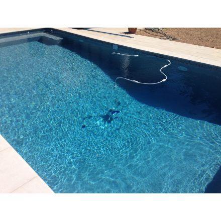 Pâtes de verre Gris Stone carrelage piscine Pinterest