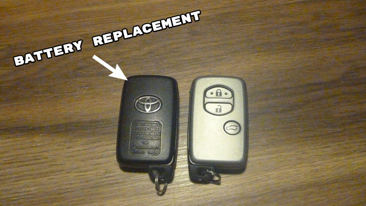 Toyota Prado Key Fob Battery Replacement Prado Key Fob Fobs