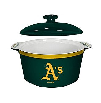 Boelter Brands MLB® Oakland Athletics Oven Bowl