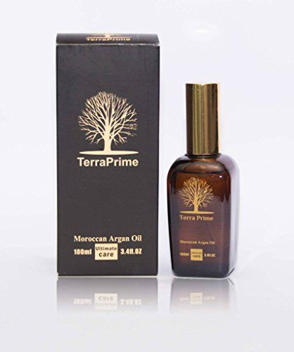 New And Improved Terra Prime Moroccan Triple Virgin Organic Argan Oil For Hair Skin And Nails 100ml Glass Bottle Argan Oil Hair Organic Argan Oil Hair Oil
