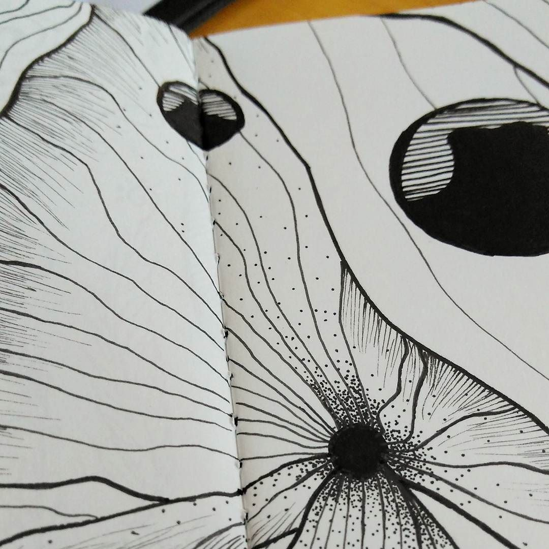 Brincando de pontinhos rabisco rabiscologia sketch sketchbook