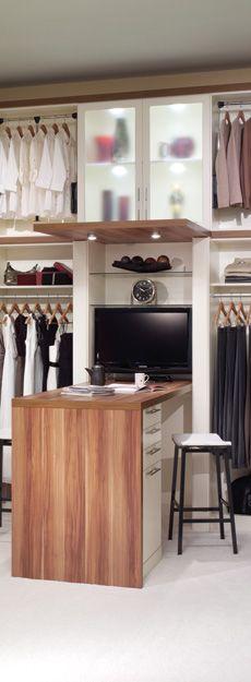 Design Closet/Office in one room. Forterra Closet