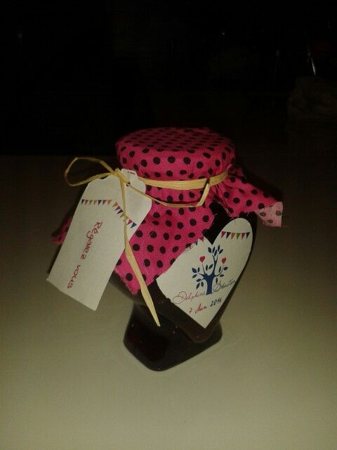 Cadeau invité confiture a la prune