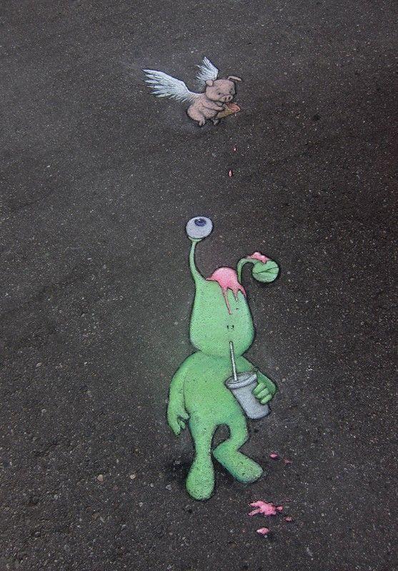 Street chalk drawings by David Zinn (7)