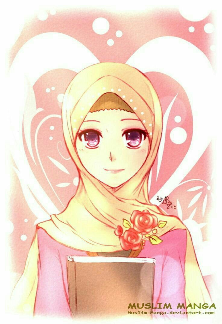 Pin By Adeq Gaia On Muslimah Cartoon Pinterest