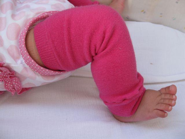 baby leg warmers - Vanessa and Amiyah