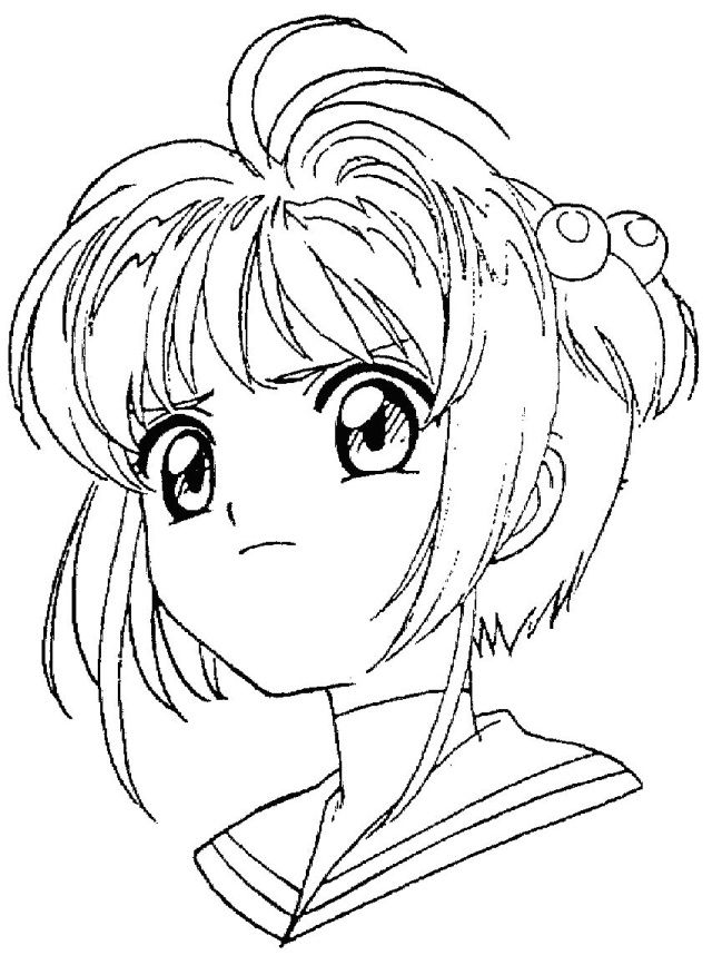 anime para colorear e imprimir  Pesquisa Google  Anime