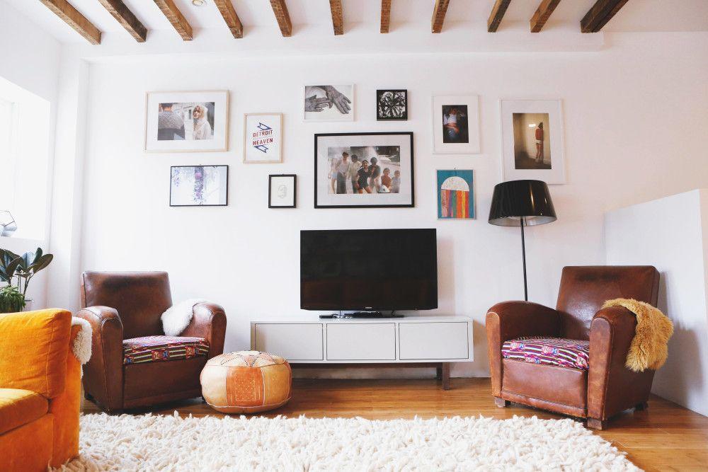 d coration clectique contemporaine blog decouvrir design living here pinterest crown heights. Black Bedroom Furniture Sets. Home Design Ideas