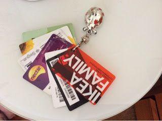 Le chi@cchiere di Claudia: Come tenere in ordine le varie carte fedeltá