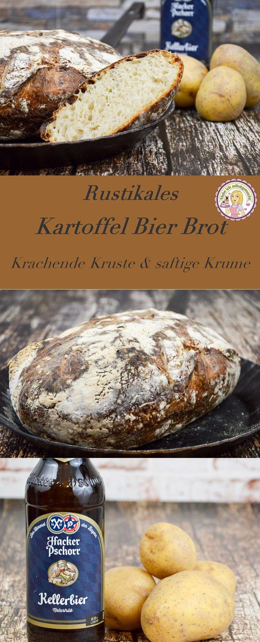 Brot #1 Kartoffel Bier Brot mit gekochten Kartoffeln