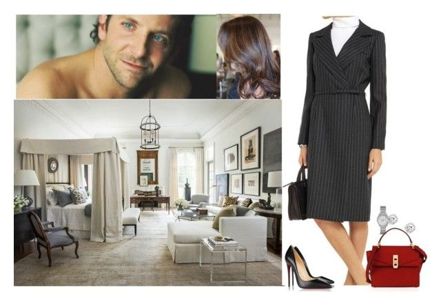 """""""Visit David very early in the morning at Clarence House before going for work and tell him of his decision on a possible future engagement"""" by pacqueline-ngoya on Polyvore featuring mode, Oscar de la Renta, Christian Louboutin, FOSSIL et Henri Bendel"""