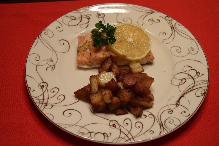 Lemon & Herb Baked Salmon   Fiesta Spices