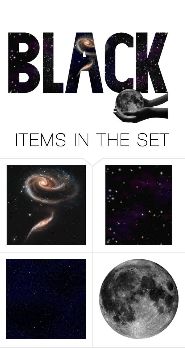 """""""Black..."""" by k-schrager ❤ liked on Polyvore featuring art"""