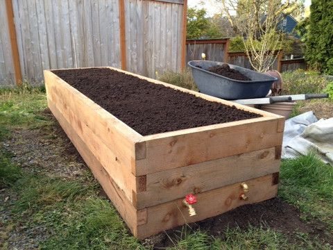 Unbelievably Savvy Self Watering Garden Beds. Gorgeously Crafted U0026 Highly  Functional   In Seattle Only | Backyard Farming | Pinterest | Gardens,  Garden ...