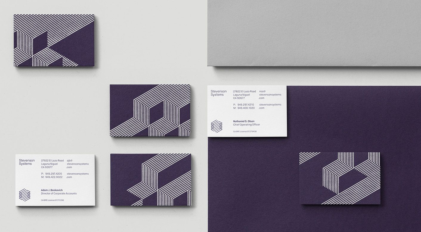 Brand identity and business cards by london based socio design for brand identity and business cards by london based socio design for space accounting specialist stevenson colourmoves Image collections