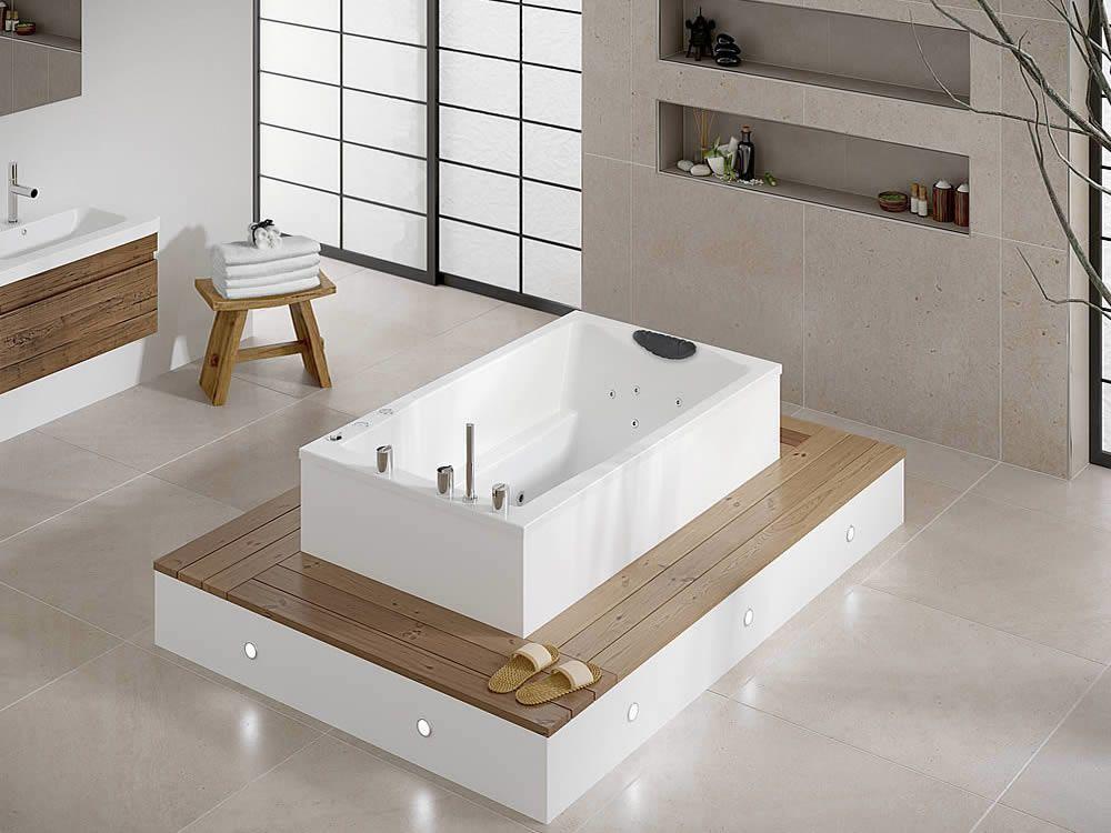 Yasahiro Deep Soaking Tub (\'laid back\' style) | Bathroom | Pinterest ...