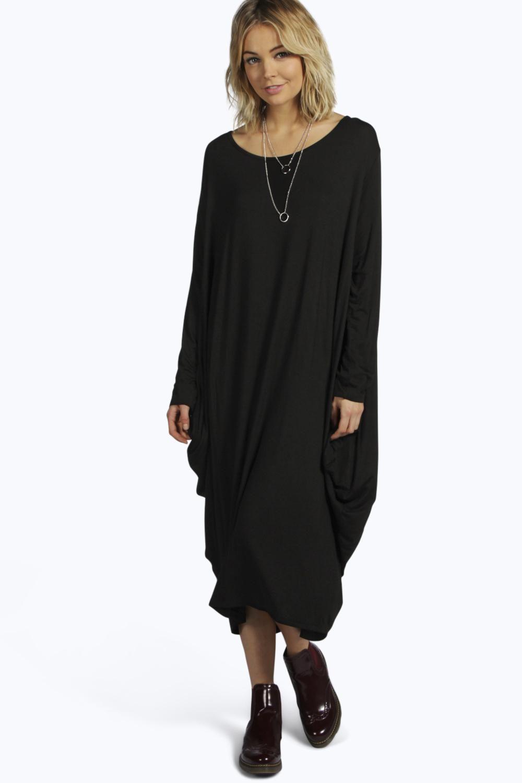 Amoza amoza slouch midi t-shirt dress | clothes | oversized t
