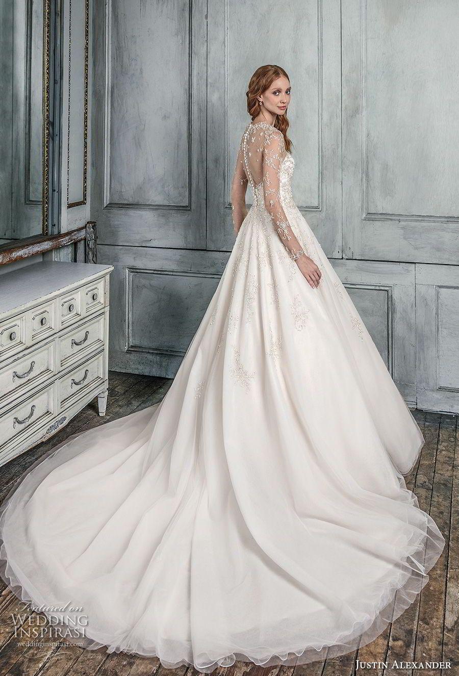 Justin alexander signature fall wedding dresses pinterest