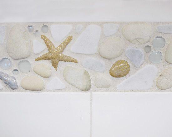 Interior Design Fabulous Kitchen Backsplash With Beach Themed