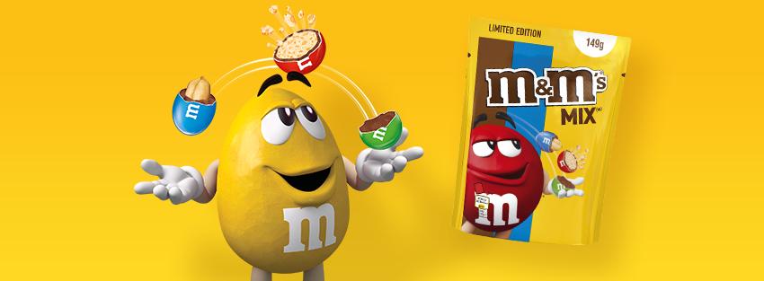 M&M's Danmark - Må vi præsentere M&M'S® Mix Limited Edition, som er i butikkerne nu!