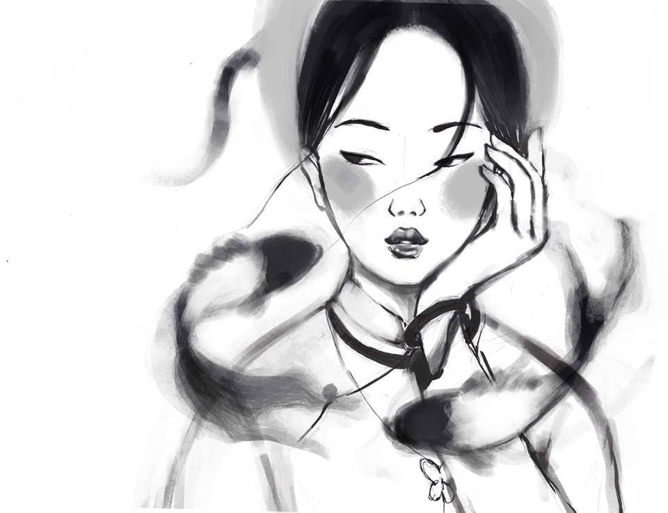 Kết quả hình ảnh cho tranh vẽ phụ nữ