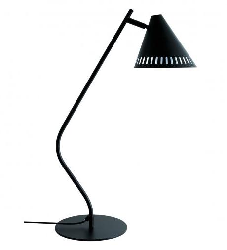 Habitat Hume Metal Desk Lamp Black, Black Metal Desk Lamps