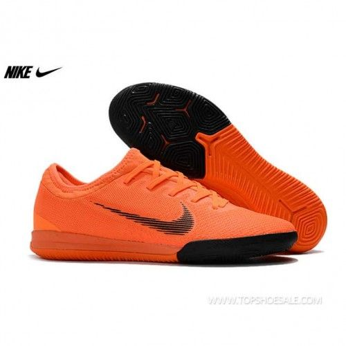 b3f74efb7 2018 FIFA World Cup Nike Mercurial VaporX XII Pro IC AH7387-810 Total  Orange Black Total Orange Volt Football shoes