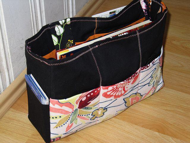 Purse Organizer Sewing Pattern Free Tutorial