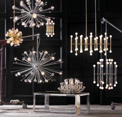 Sputnik chandelier polished nickel jonathan adler lighting powder room sputnik chandelier polished nickel jonathan adler aloadofball Gallery