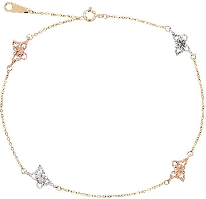 peuce ankle gold anklet in pin filled bracelet
