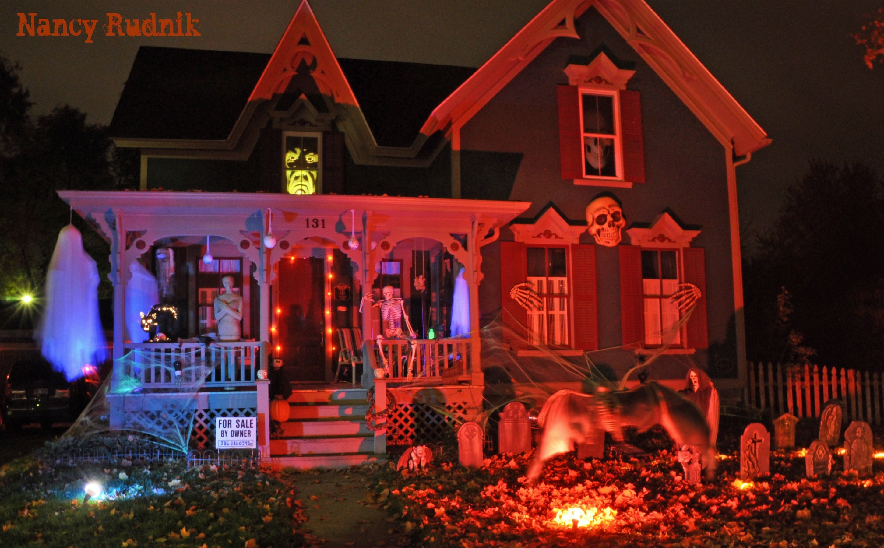 Halloween 2015 Lighting Ideas Michigan Nightmare On Tillson Street, Romeo,