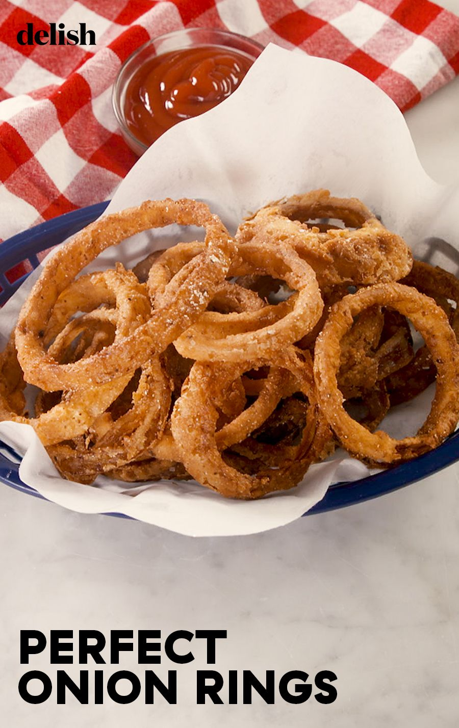 Onion Rings Easy Appetizer Recipes Recipes Delish Recipes