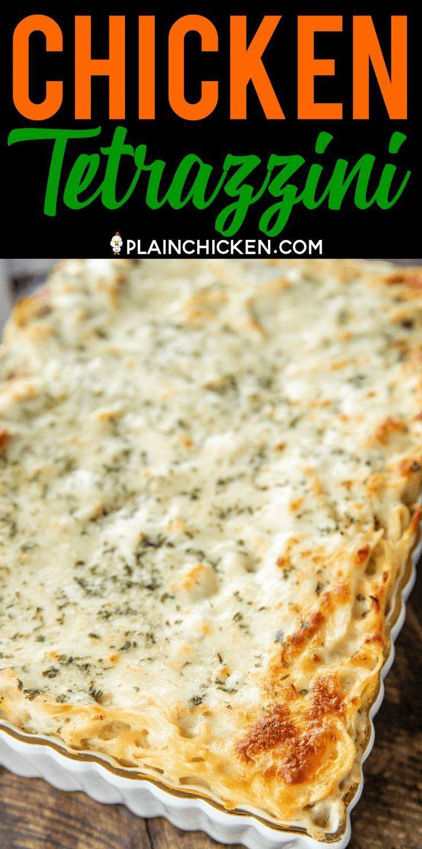 Chicken Tetrazzini Super Delicious Make Ahead Casserole Makes A Great Freezer Meal Ch