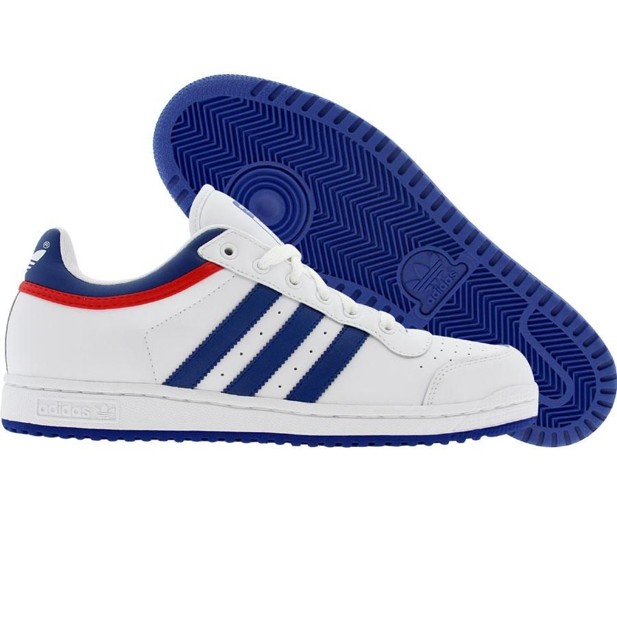 Adidas Top Ten Low (runninwhite / college royal / college red) 581051 -  $69.99
