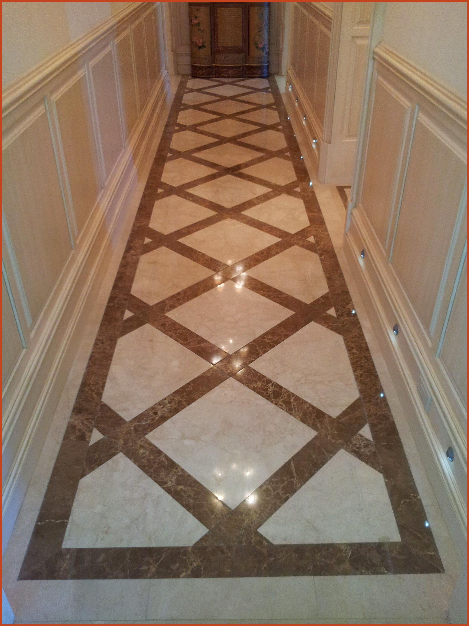 Crema Marfil And Emperador Light Marble Floors Design By Blair