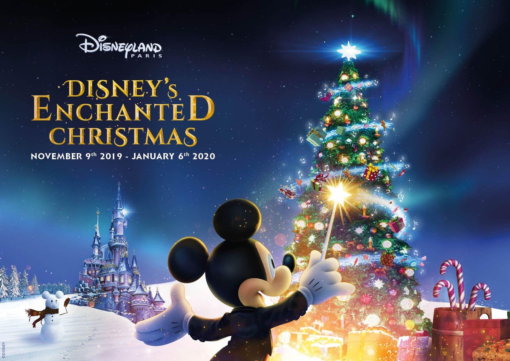 Christmas Returning to Disneyland Paris with Disney's
