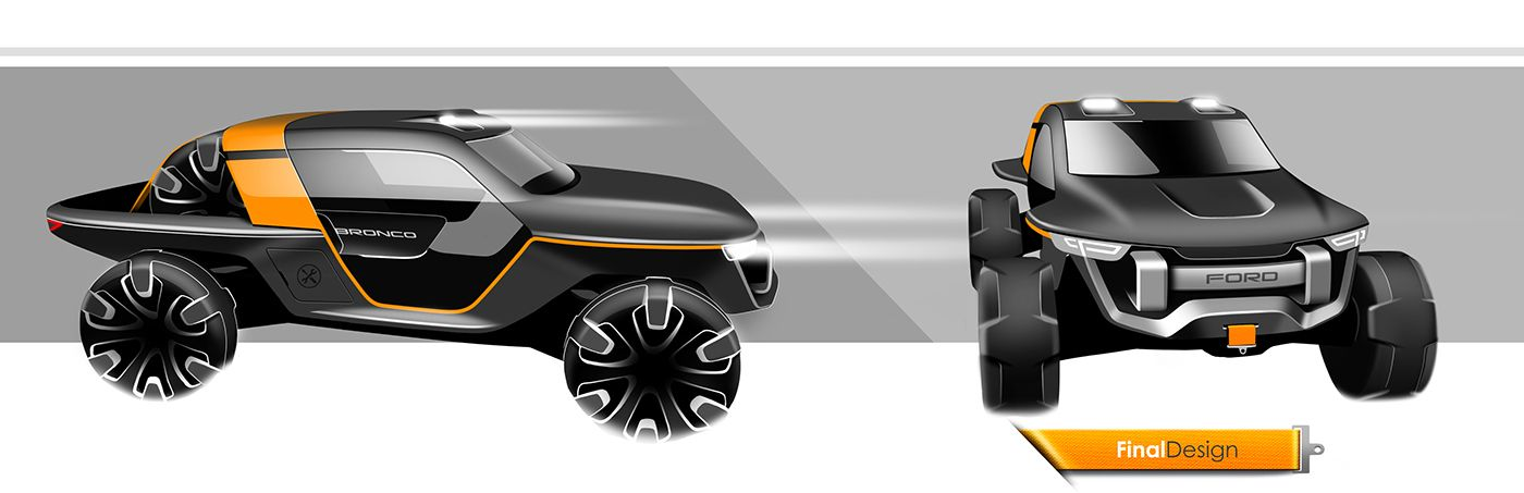Ford Bronco Concept (Internship Project 2014) on Behance