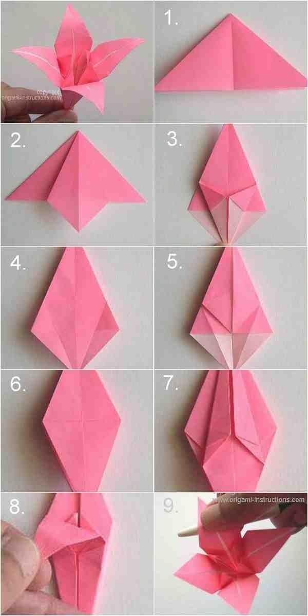 Cute Origami Flower DIY Step By Gonna Start Soon