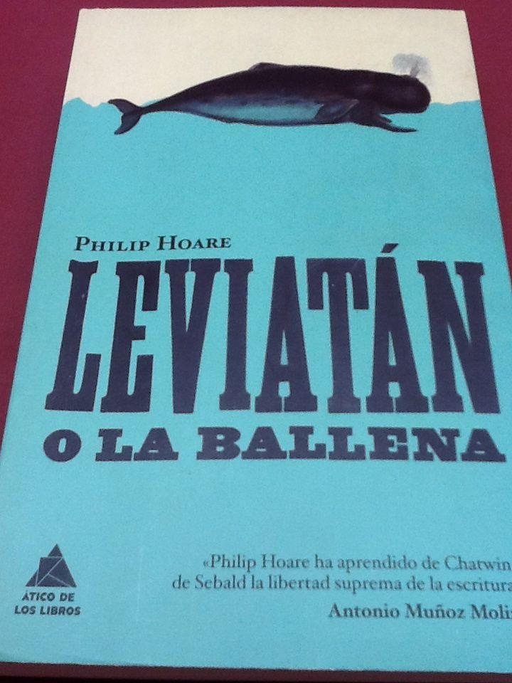 """""""Nadie sabe porque saltan las ballenas"""". Philip Hoare."""