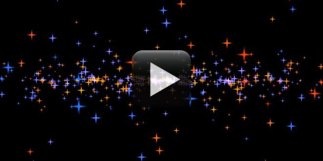 Animated Moving Stars Video Background Effect Free Download