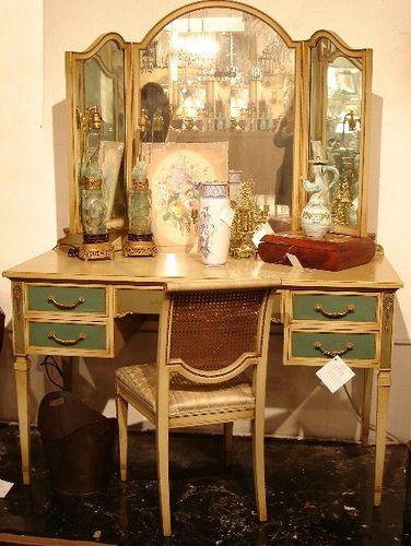 Baroque Antique Vanity Table Vanity Table Decor