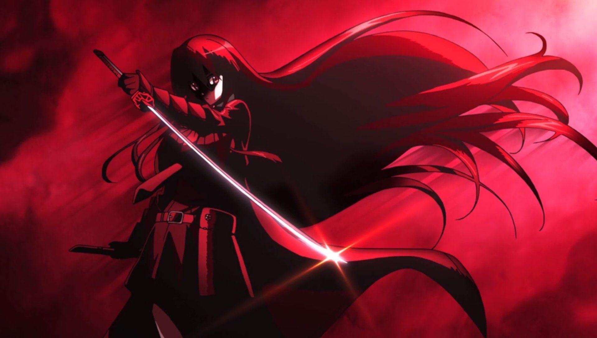 Anime Akame Ga Kill Akame Akame Ga Kill Wallpaper Tapety Konie