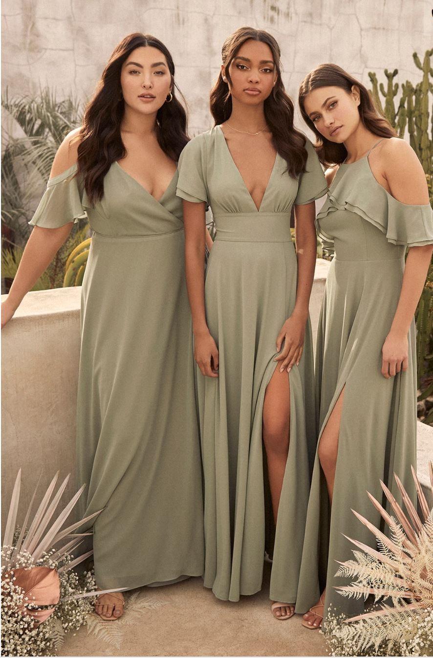 Bridesmaid Dresses Under 100 Today S Fashion Item In 2020 Casual Bridesmaid Dresses Bridesmaid Dresses Plus Size Sage Green Bridesmaid Dress