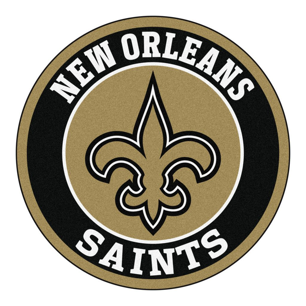 Roundel Mat New Orleans Saints
