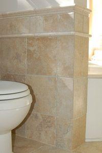 tiled waincoating | Bath Tile Wainscoting | Today's Homeowner