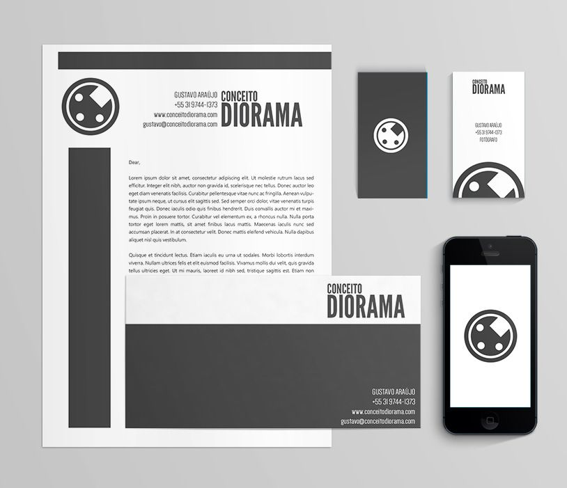 Identidade | Conceito Diorama | Evoé Estudio