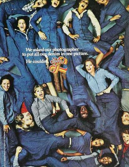 jeans advertisement