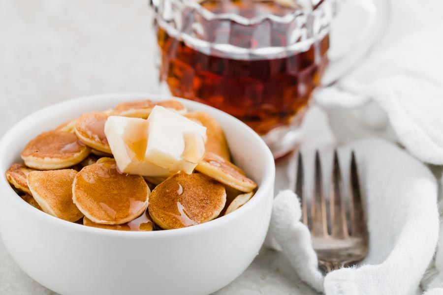 Mini keto pancakes cereal recipe ketofocus recipe